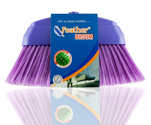 feather, purple monara broom