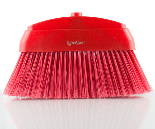 feather, red monara broom