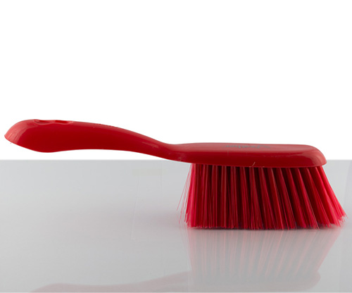 feather, red orchid dustpan set
