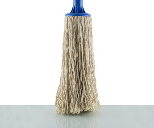 feather, blue cotton floor mop