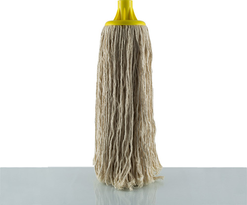 feather, yellow cotton floor mop
