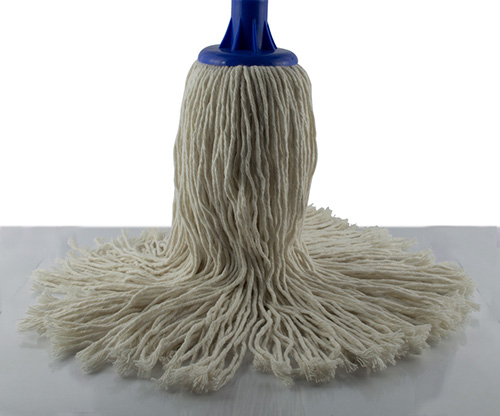 feather, dark blue pigeon mop
